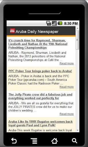 【免費新聞App】Aruba Daily Newspaper-APP點子