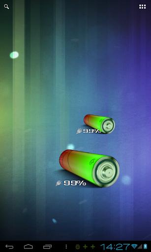 3D AA 배터리 위젯