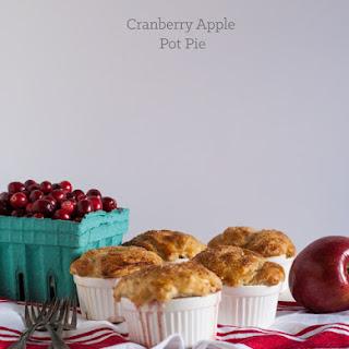 Cranberry Apple Pot Pie.