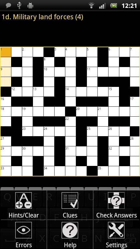 Crossword Puzzle King - screenshot