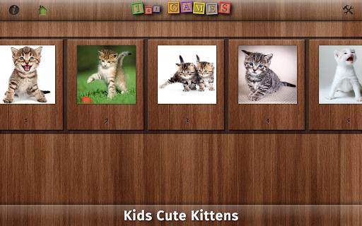 【免費教育App】1st Games Cat Puzzles for Kids-APP點子
