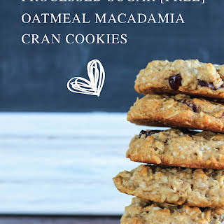 Coconut, Macadamia and Cranberry Cookies.