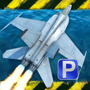 Jet Fighter Landing Simulator for PC and MAC