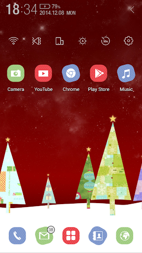 Christmas Tree Atom Theme