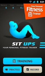 Abs Sit Ups Workout- screenshot thumbnail