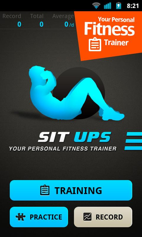 Sit Ups pro - screenshot