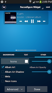 Poweramp Standard Widget Pack- screenshot thumbnail