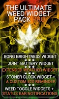 Screenshot of Weed Widget Pack Pro