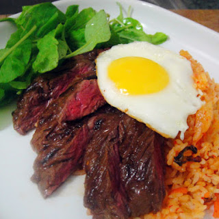 Steak and Eggs Korean Style