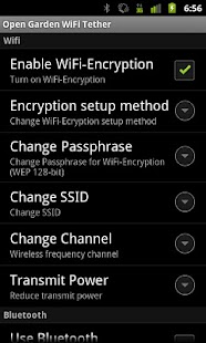 WiFi Tethering - screenshot thumbnail