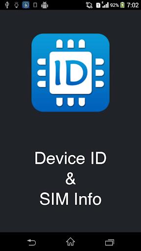 设备ID和SIM卡M息