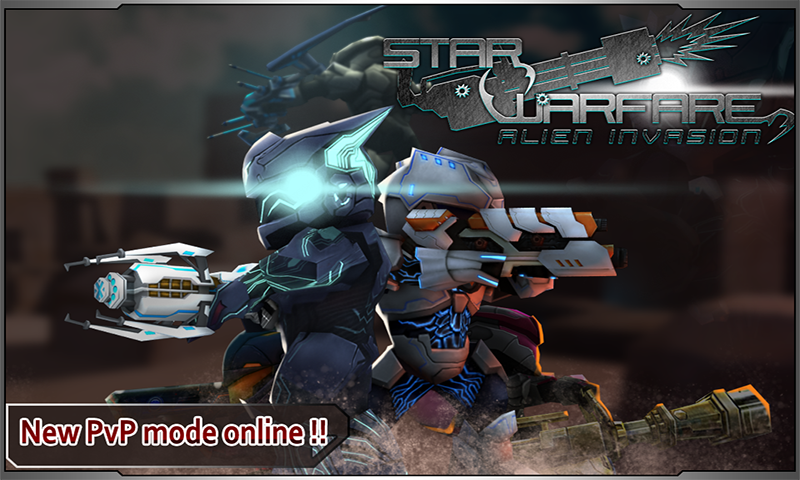 Star Warfare:Alien Invasion HD- screenshot