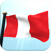 Peru Flag 3D Free Wallpaper