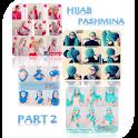 Tutorial Hijab Pashmina 2