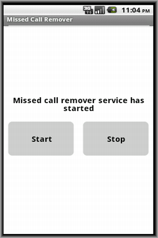 Missed Call Remover Ad