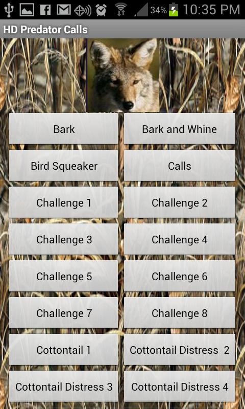 HD Deer and Predator Calls - screenshot