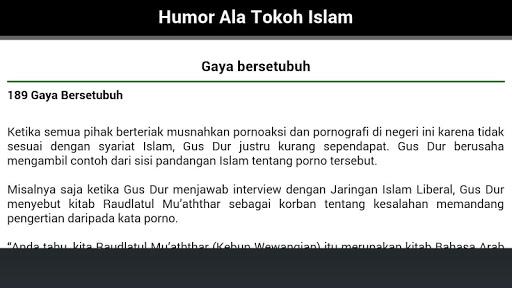 玩免費書籍APP|下載Humor Ala Tokoh Islam app不用錢|硬是要APP