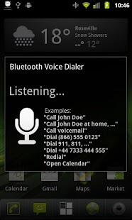 Bluetooth Voice Dial Widget- screenshot thumbnail