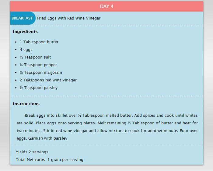 30 days weight loss plan