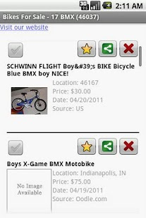 Bikes For Sale - screenshot thumbnail