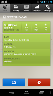 NetworkRadar Screenshot 2