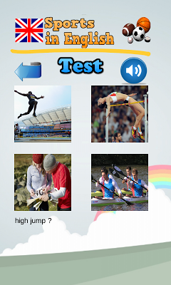 Learn Sports in English - screenshot