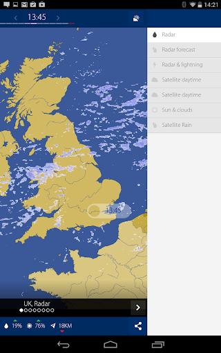 免費下載天氣APP|RainRadar UK & Ireland app開箱文|APP開箱王