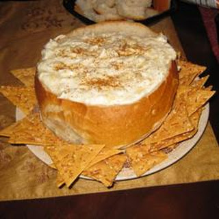 Joelle's Famous Hot Crab and Artichoke Dip