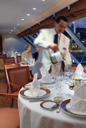 Oceania-Toscana-2 - Head to Toscana for traditional Italian dishes presented on custom-designed Versace china during your voyage on Oceania Regatta.