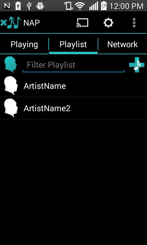 Network Audio Player- screenshot
