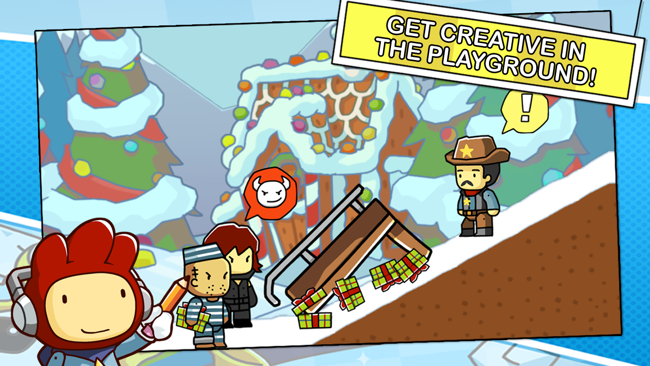 Scribblenauts Remix- screenshot