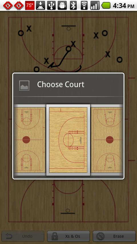 Basketball Playbook- screenshot