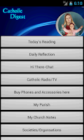 Screenshot of MyCatholicDigest