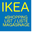 Shopping List at Ikea icon