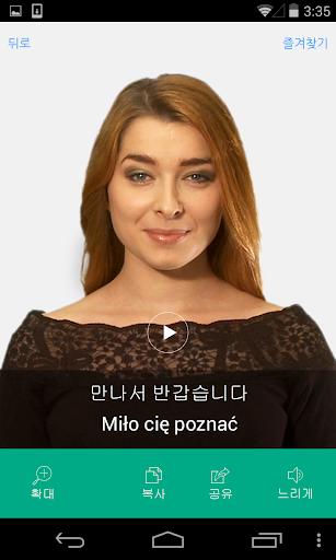 폴란드어 비디오 사전