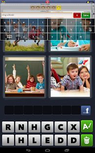 Cheats for 4 Pics 1 Word- screenshot thumbnail