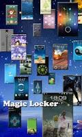 Screenshot of Tear Coupon Magic Locker Theme