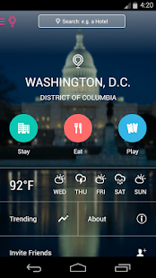 Washington D.C. City Guide - screenshot thumbnail