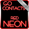 Red Neon Go Contact theme icon
