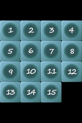 15 Puzzle- screenshot