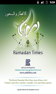 Ramadan Times- screenshot thumbnail