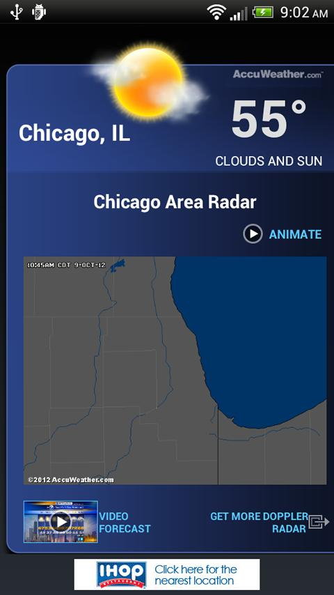 ABC7 Chicago Alarm Clock - screenshot