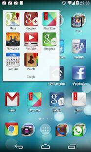 KitKat Launcher - screenshot thumbnail