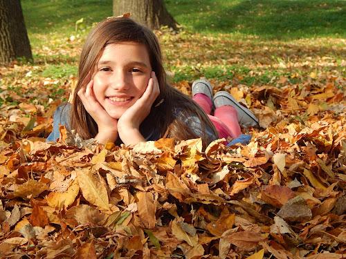 Autumn by Irena Čučković - Babies & Children Child Portraits ( child, girl, fall colors, autumn leaves, colorful, autumn, colors, fall, happiness, autumn colors, fun, childhood )