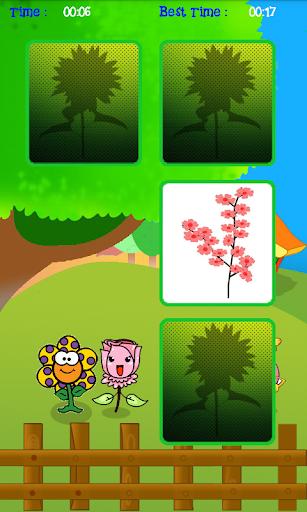 Game Anak Asah Memori : Bunga