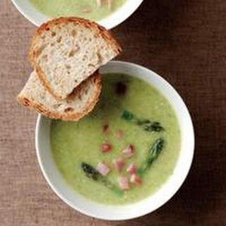 Creamy Asparagus-and-Ham Soup.