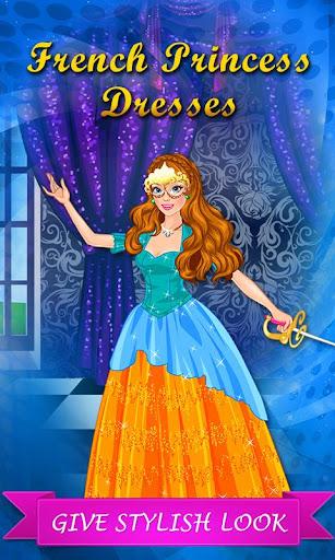 French Princess at Masquerade