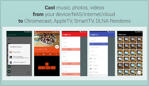 LocalCast for Chromecast DLNA