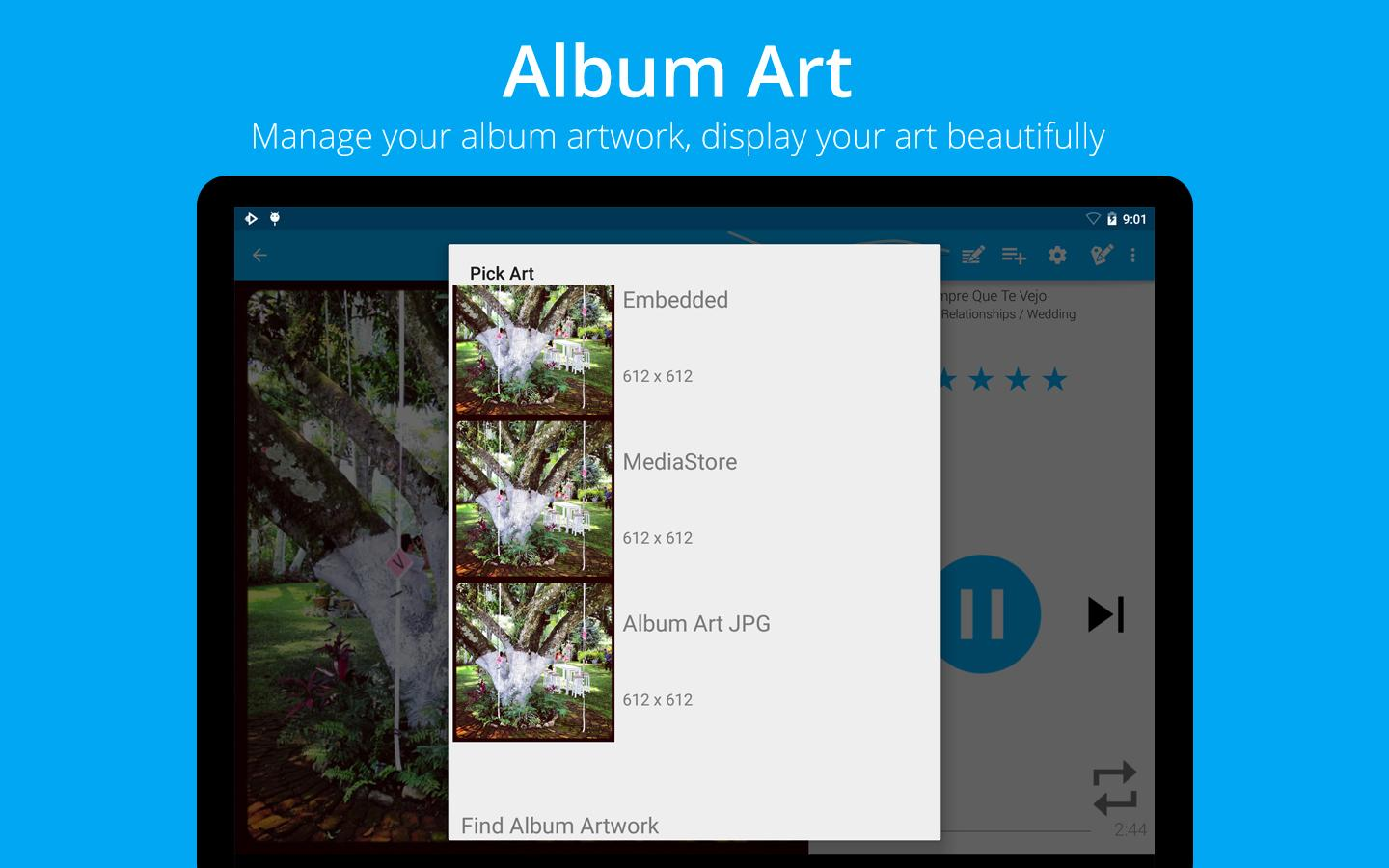 Music Player : Rocket Player - screenshot
