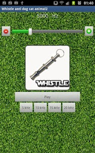 Dog Whistle PRO screenshot 0